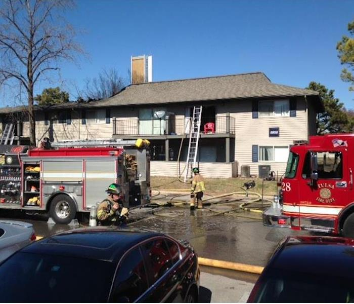 Fire Loss to Apartment